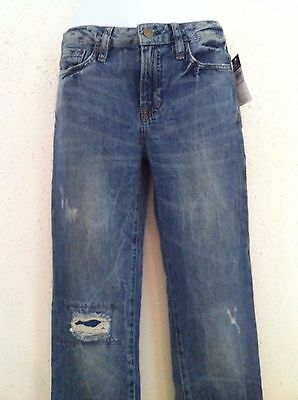 Ralph Lauren Polo Jeans~Tabor Wash Skinny Fit 5 Pocket~Distressed~Size 12 NWT