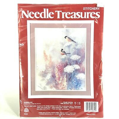 Needle Treasures Stitchery Kit Summerlace Lena Liu Adaptation 00629 NEW Crewel