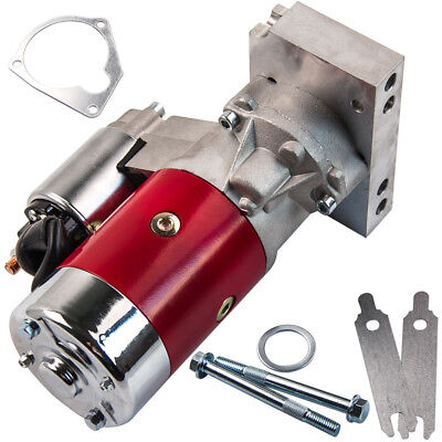 High Torque Starter Motor For Chevy Big Block 396 402 427 454 Red 153 Or 168