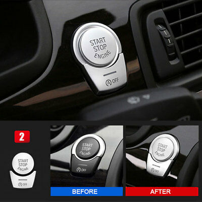 Dashboard Engine Start Push Button Cover Trim For BMW 5 Series F10 F18 2011-2017