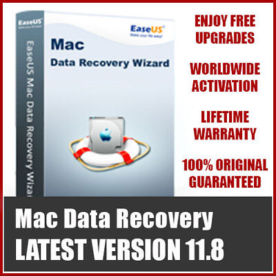 EaseUS Data Recovery Wizard for Mac - LIFETIME License FREE Upgrade
