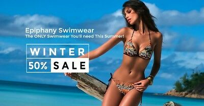 Online Internet Fashion Swimwear Clothing Business For Sale Start Selling Today