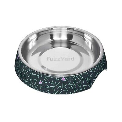 "Fuzzyard ""Voltage"" Wide & Shallow Melamine Cat Bowl"