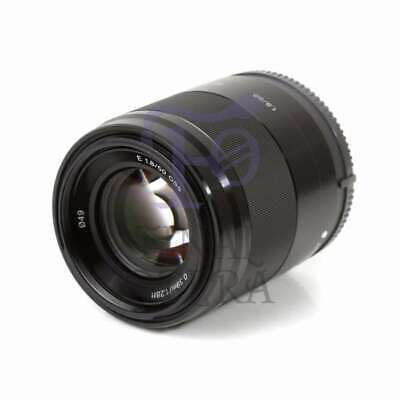 Autentico Sony E 50mm F1.8 OSS E-mount Lens SEL50F18 (Black)