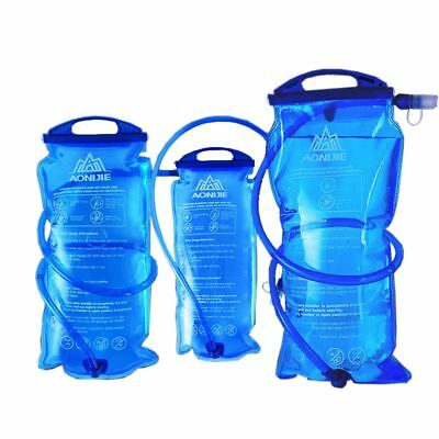 1/1.5/2/3L Water Bladder Bag Backpack Hydration Pack for Camping Hiking Climb AU