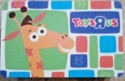 TOYS R US Gift Card - 2017 Geoffrey design - Collectible / No Cash Value