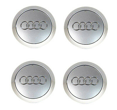 "4x OEM Wheel Center Cap 4E0601165A For AUDI A8 QUATTR 18"" 19"" 12 Spokes Wheel"