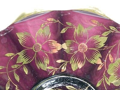 ornamental glass plate antique collectable