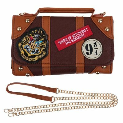 Harry Potter Hogwarts PU School Badge Wallet Shoulder Bag Handbags Gifts AU POST