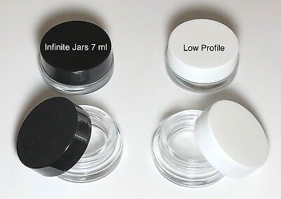 Concentrate Container 7ml Glass Jar - lip Balm Jar - Cosmetics Jars 20-450