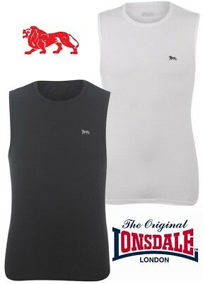 T-Shirt Tank Top Lonsdale Man Boxing Lion Collection 2018 S To Xxl