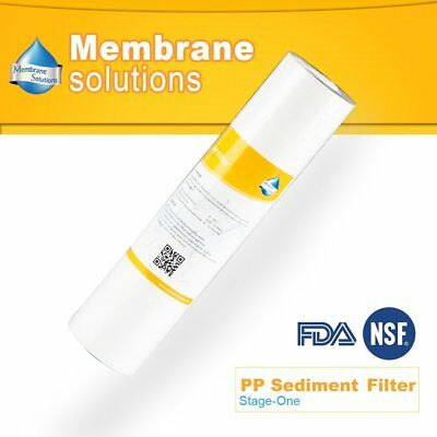 PP Sediment Water Filter, 5 micron 10 inch RO Water Purifier Replacement, 1-Pack