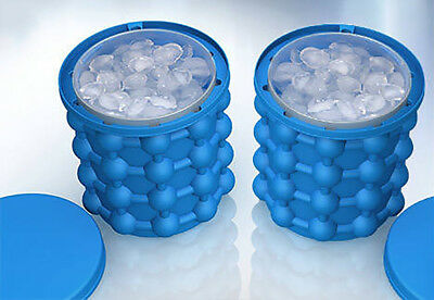 UK Ice Cube Maker Genie The Revolutionary Space Saving Ice Cube Maker Ice Genie