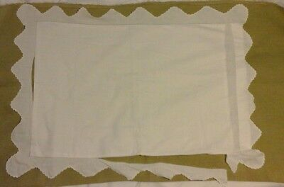 Vintage pillow case for recycling project