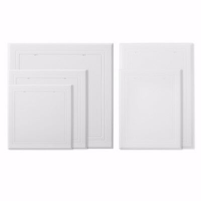 150mm 200mm 250mm 300mm ABS Access Panel White Inspection Door Revision Hatch UK