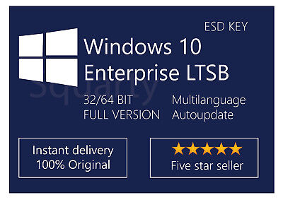 ~ License / Licenza Microsoft Windows 10 Enterprise LTSB 2016