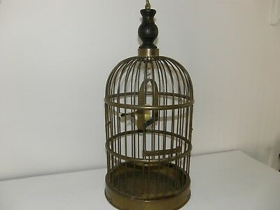 Antique Solid Brass French Bird Cage