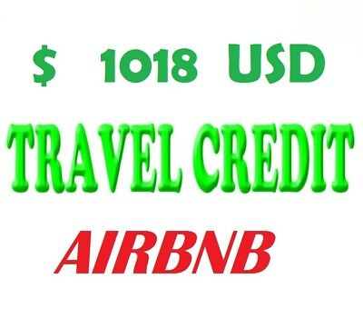 Airbnb Discount Account With 1018 $ Usd Travel Credit - Ready To Use!