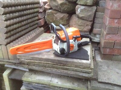 STIHL Chainsaw MS170 Petrol Sthil Pre MS181 14 inch Bar & Chain