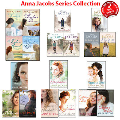 Anna Jacobs series collection books set Rivenshaw Gibson greyladies Honeyfield