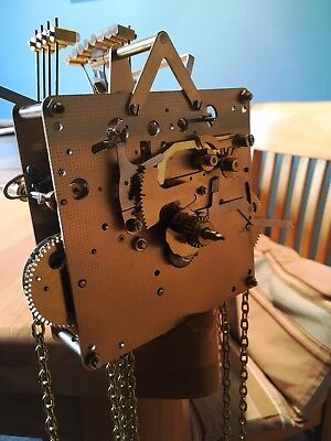 Franz Hermle 8 day clock mechanism for longcase clock