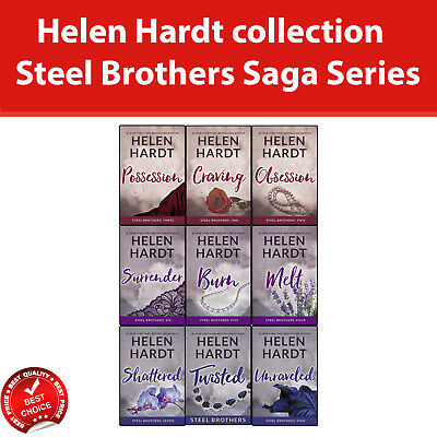 Steel Brothers Saga Series Helen Hardt collection Books 1-9 set Pack NEW