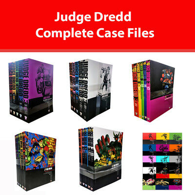 Judge Dredd Complete Case Files Series 1 2 3 upto6 collection Vol.1-30 Books Set