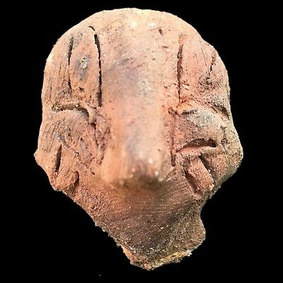 Ultra Rare Stone Age Ancient Neolithic Anthromorphic Vinca Idol 4500BC (1)
