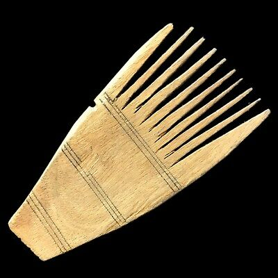 Ancient Roman Period Decorated Hair Comb 2nd-3rd Cent AD (1)