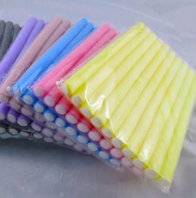 Hair Rollers Sponge 10x Silicone Formers Styling  No Clip Hairstyling Care Tool