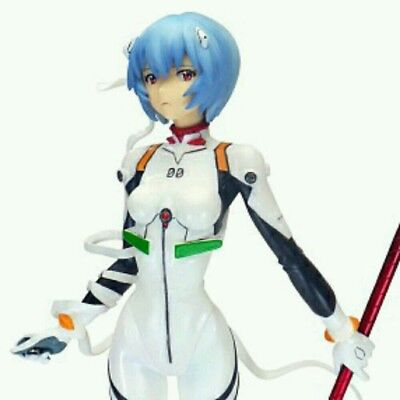 Clayz Evangelion 2.0: Rei Ayanami Cold Cast Figure (1:8 Scale) New in Box
