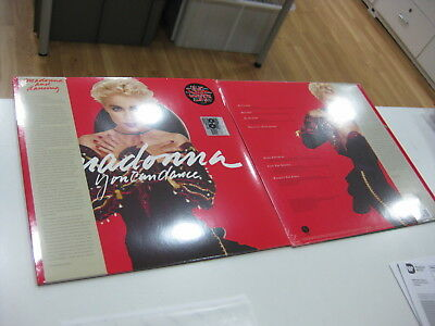 Madonna Lp You Can Dance Limited Edition Red Vinyl With Poster Rsd 2018