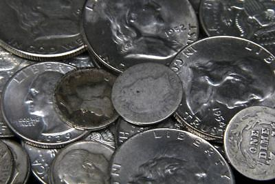 $2.00 of Face Value 90% Junk Silver United States Coins