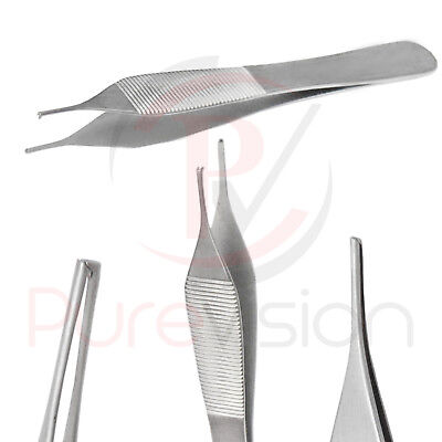 Adson Micro Tooth Dissecting Tweezer Dental Surgical Instrument New