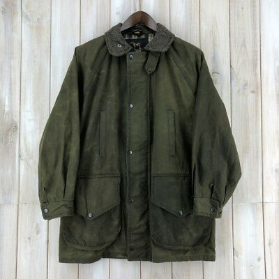 Campbell Cooper New British Hunting Wax Cotton Jacket Coat Padded Green