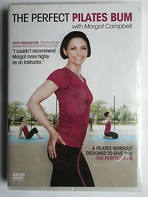 The Perfect Pilates Bum With Margot Campbell (DVD, 2011) NEW & SEALED CC11