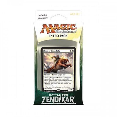 Magic: the Gathering MTG BATTLE FOR ZENDIKAR * Rallying Cry Intro Pack (White)