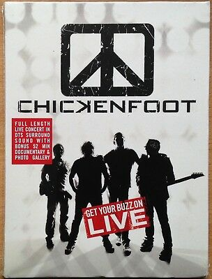 ` Chickenfoot  Get Your Buzz On - Live   2010 PAL Region 0   NEW/Sealed