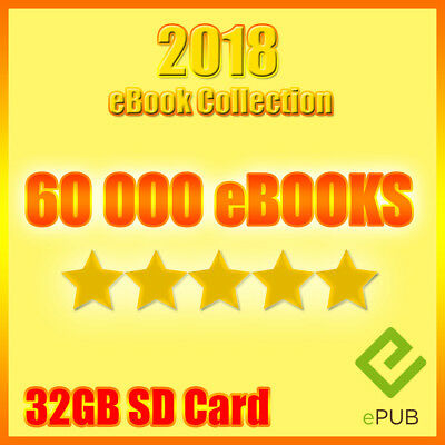2018 eBook Collection 60000 Titles DIGITAL DOWNLOAD no DVD EPUB KINDLE | eBooks