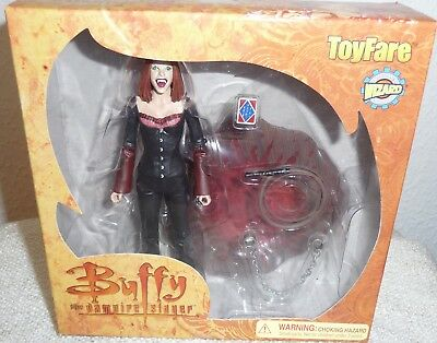 Toyfare Exclusive Buffy the Vampire Slayer Vampire  Willow Action Figure Ovp