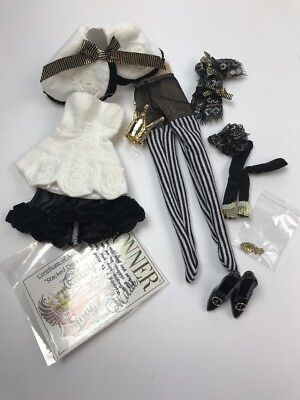 """WILDE/TONNER - TDH - 16"""" Stacked Deck Heart OUTFIT ONLY (bagged)"""