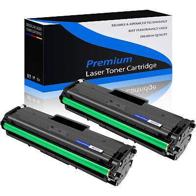 2 PK MLT-D111S Toner Cartridge For Samsung Xpress M2020W M2070W M2070FW MLTD111S