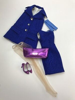 """WILDE/TONNER - TDH - 16"""" Skyline Blue Marley OUTFIT ONLY (bagged)"""