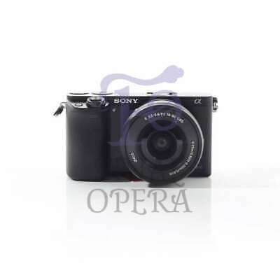 Autentico Sony Alpha A6000 Mirrorless Digital Camera + 16-50mm Lens Black