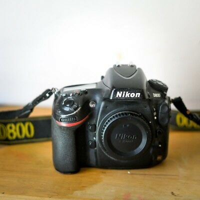 Nikon D D800 36.3MP Digital SLR Camera - Black (Body Only) Great Condition