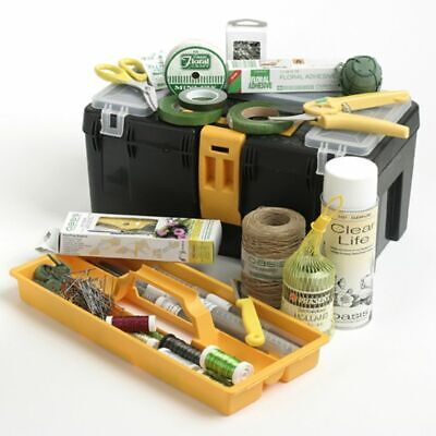 Professional Florist Toolbox Kit Contains 26 Quality items Smithers Oasis