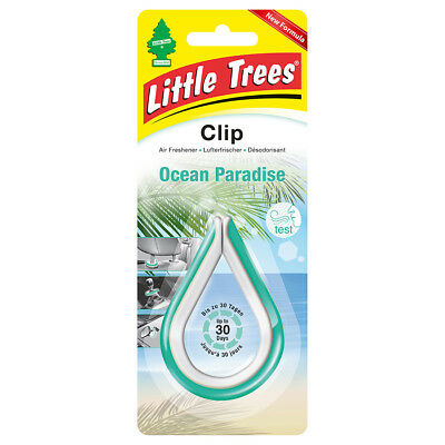 "Magic Tree ""little Tree"" Air Freshener Clip Ocean Paradise Fragrance"
