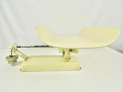 Vintage Detecto Metal Baby Scale Beam Type Jacobs Bros Brooklyn New York USA