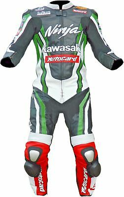 Motorbike Racing Leather Suit Ce Approved Protections