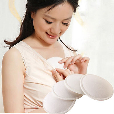 12x Feed Washable Reusable Breast Nursing Pads Soft Absorbent Breastfeeding TH